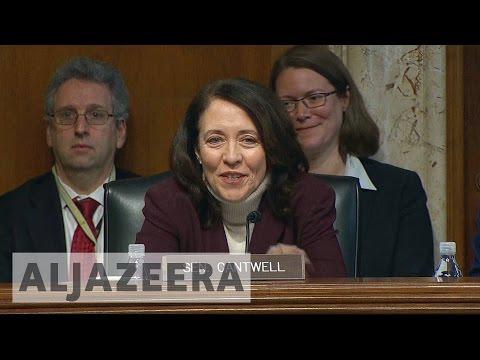 US senate questions Trump's cabinet