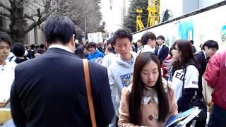 早稲田大学 新入生の目線で 新歓を歩くと?