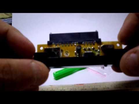 Case for hard drive USB 2 0 SATA 2,5 HDD
