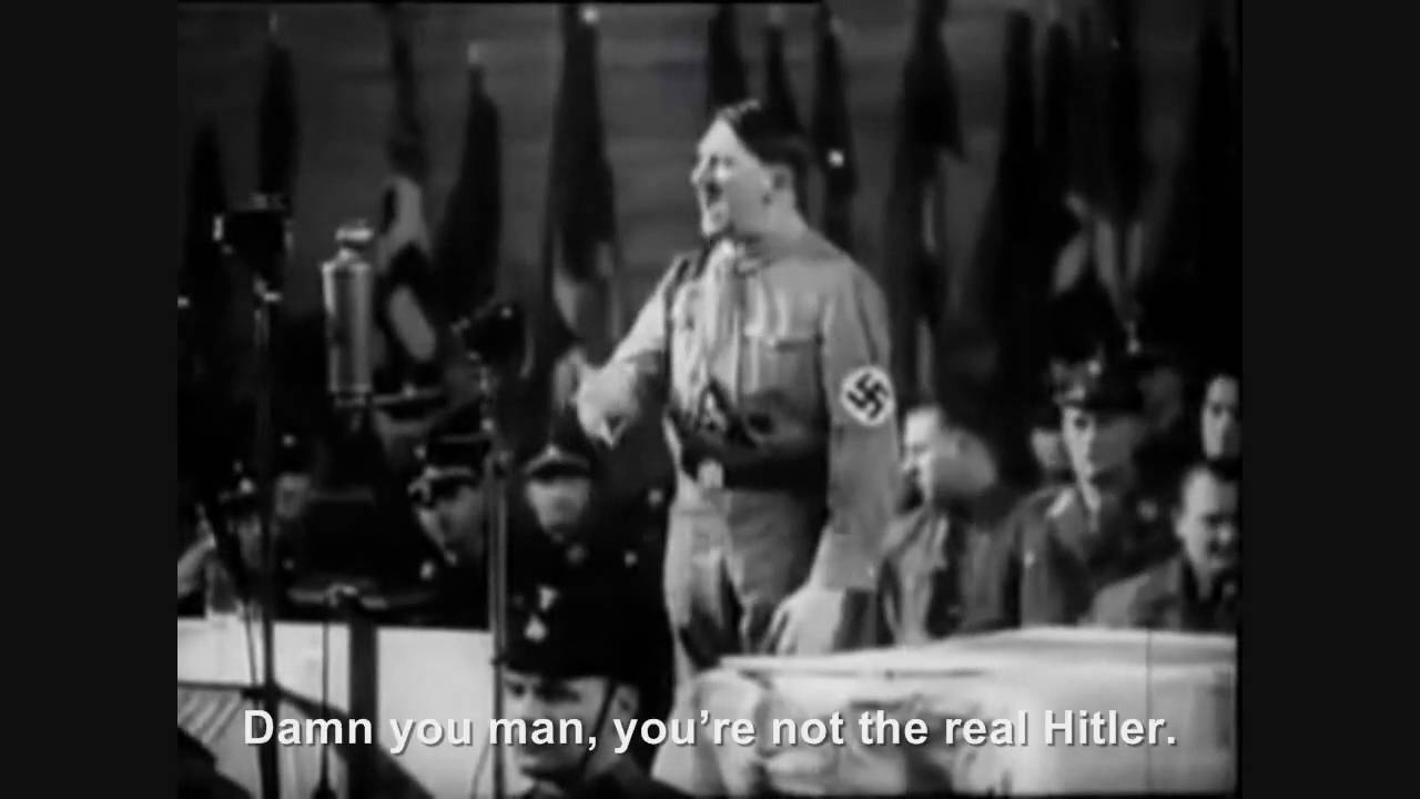 Hitler phones Hitler