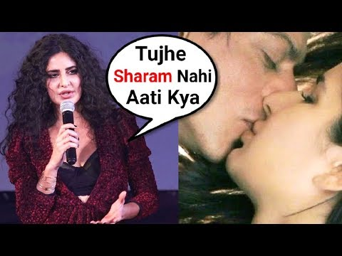 Katrina Kaif ANGRY Reaction On Kissing Shahrukh Khan In ZERO Movie