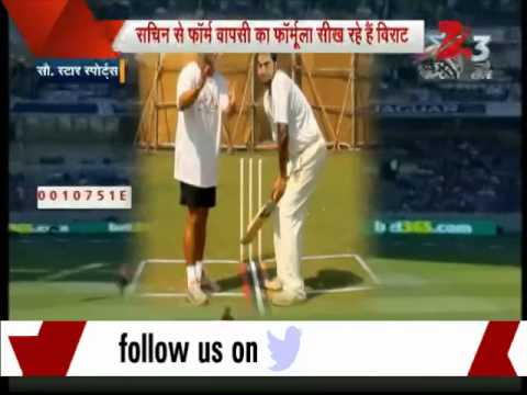 Struggling Virat Kohli seeks help from mentor Sachin Tendulkar