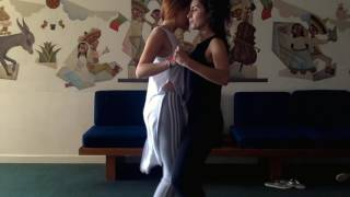 Lead and follow, Sophie Fox y Lucero Huitrón,  Kizomba Woman