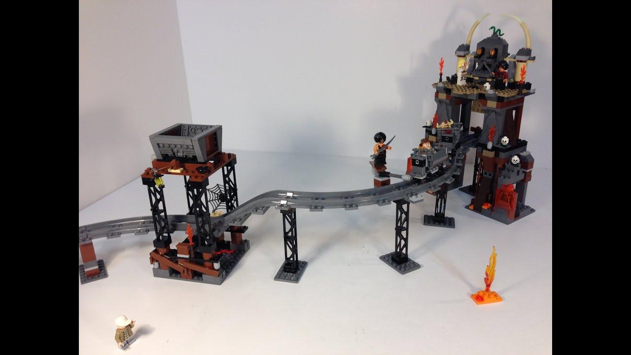 Lego Indiana Jones 7199 The Temple Of Doom Mine Train