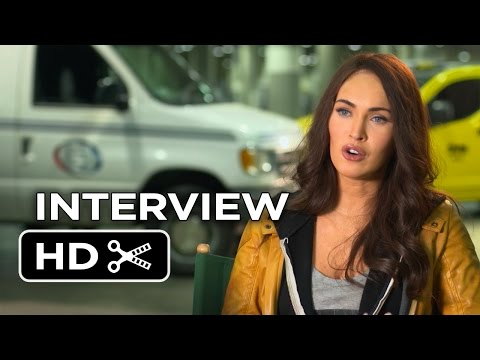 Teenage Mutant Ninja Turtles Interview - Megan Fox (2014) - Ninja Turtle Movie HD
