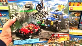 Toys R US Toy Hunt LEGO - Toy Hunting for Best Christmas Lego Toys - NEW 2018 LEGO SETS