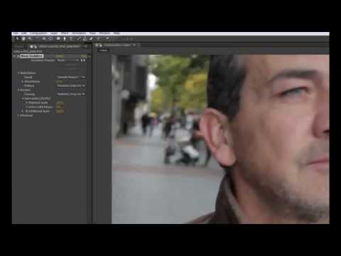 Tutorial After Effects CS6 Estabilizar Imagen Video (Warp Estabilizer)