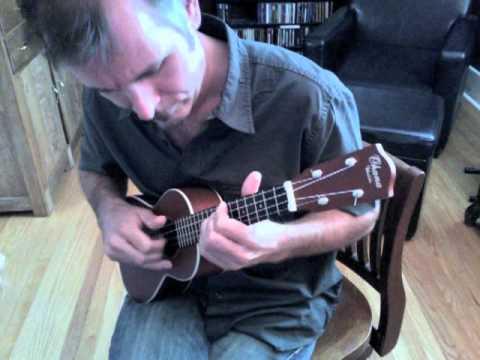 Memphis style ukulele