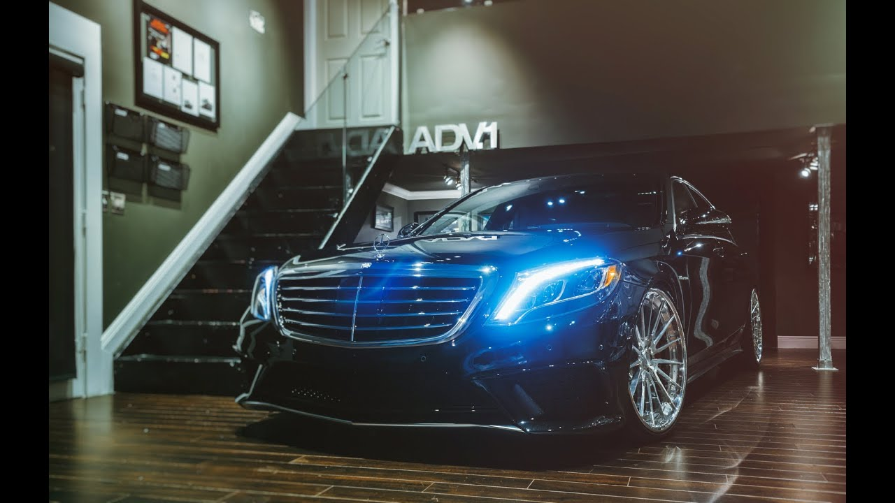 ADV.1 Wheels '15 Mercedes S63 AMG w/ ADV15 CS Series Track ...