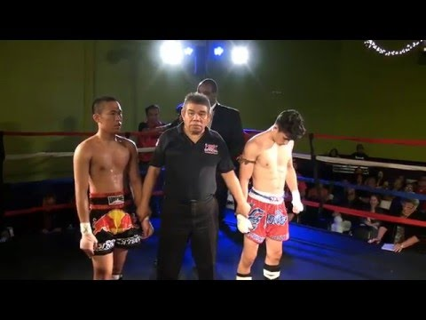 Muay Thai Global IX 4 Saludares vs Vongsavanh