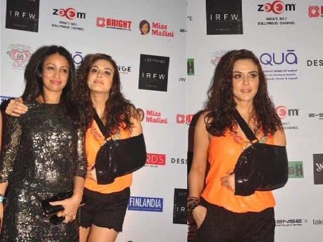 Preity Zinta graces Surily Goel's show IRFW 2013