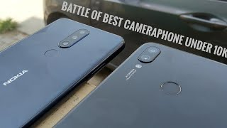 Nokia 5.1 Plus Vs Redmi Note 7 Camera Comparison!  Which one is better camera phone under 10k?