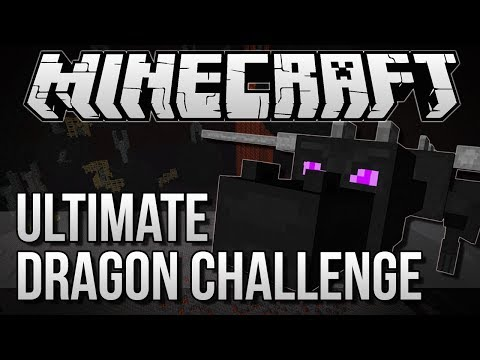 ULTIMATE DRAGON CHALLENGE | Minecraft: Dragon Escape Minigame!