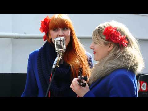 London in a day - Sugar sisters at Portobello road - Ela