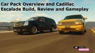 Forza Horizon January Recaro Car Pack, Cadillac Escalade Full Build Up, Top Speed and Drift