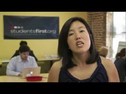 StudentsFirst.org - Michelle Rhee Answers Your Questions: Teaching to the Test, Value-Added