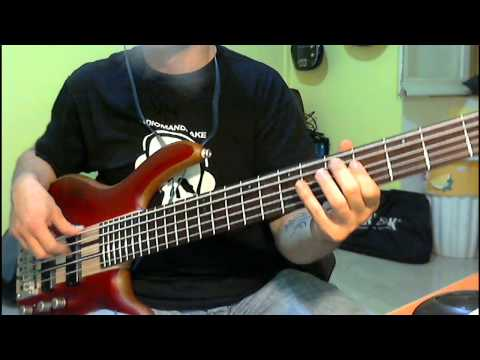 Patti Smith - Dancing Barefoot (Bass Cover by Jecks)