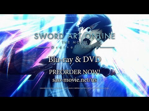 Sword Art Online The Movie -Ordinal Scale- BD & DVD Trailer