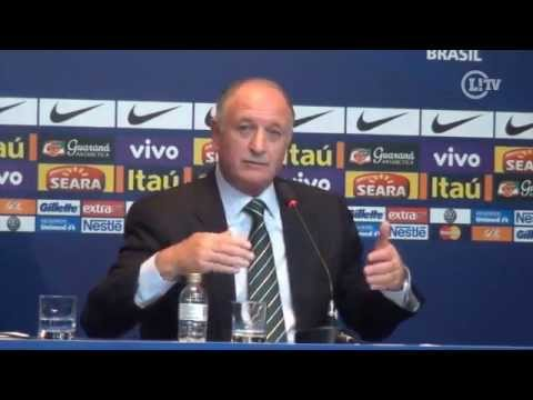 Felipão deixa R10 e Kaká fora e chama Bernard para Copa das Confederações