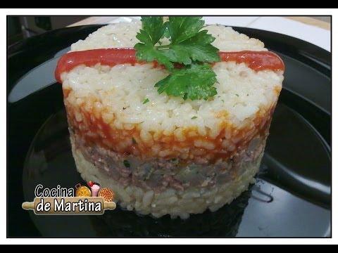 Pastel de arroz | Recetas de aprovechamiento | Cocina de Martina