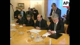 Russia Osce Igor Ivanov Meets With Jan Kubis