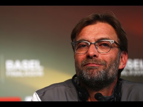 Jurgen Klopp's Liverpool vs. Sevilla Europa League final press conference