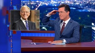 Stephen's Tribute To David Letterman