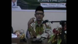 Pengajian Kebangsaan Tafsir Surat Al Isra' ayat 16 Bersama Dr  KH  Haedar Nashir, M Si  PDPM Sukohar