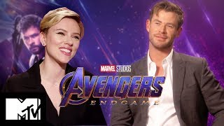 Avengers: Endgame Cast Play Marvel Yearbook & How Well Do You Know The Fallen? | MTV Movies