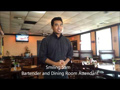 Siem Reap Restaurant - Delicious Cambodian Cuisine in Columbus, Ohio, U.S.A. October 23, 2013