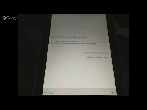 Cyanogenmod Installer Demo