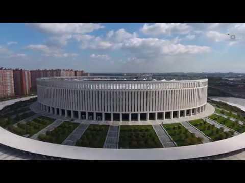 Лучший стадион Европы. Стадион Краснодар. Краснодар - Шальке-04. Krasnodar Stadium Arena.
