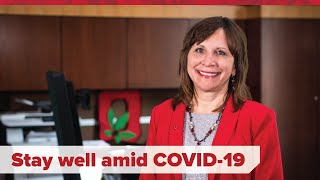 Key Strategies for Staying Well During the COVID-19 Pandemic for Healthcare Professionals