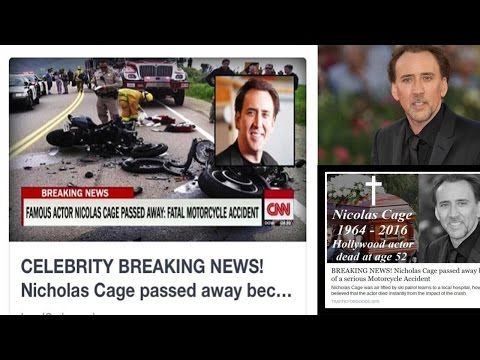 Truth about  Nicolas Cage Death