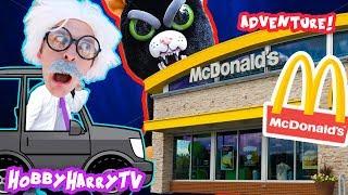 JAGUAR Wants McDonalds +100 Layer CHALLENGE with HobbyHarryTV