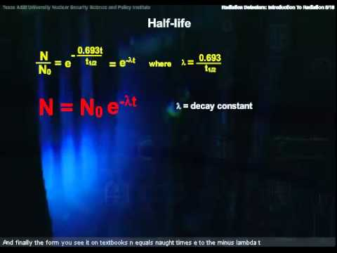 Basic Nuclear and Atomic Physics-Radioactivity and Radiation With Closed Captions