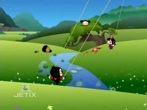 Pucca Funny Love Season 1-Ep4-Pt2-Let's Go Fly A Ninja