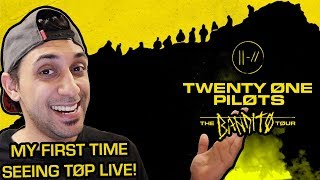 My First Twenty One Pilots Concert! | The Bandito Tour