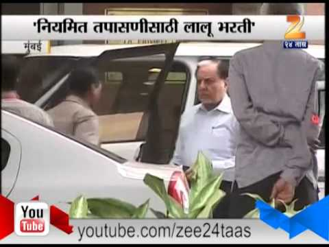 ZEE24TAAS : Essel Group Chairman Subhash Chandra Meet Lalu Prasad Yadav At Asian Heart Institute