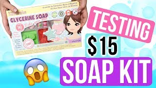 TESTING A KID'S SOAP KIT | Royalty Soaps