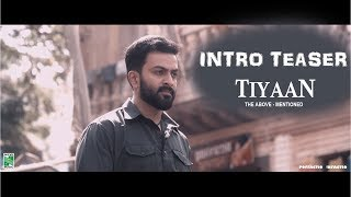 TIYAAN - Prithviraj Intro Teaser HD | Gopi Sundar