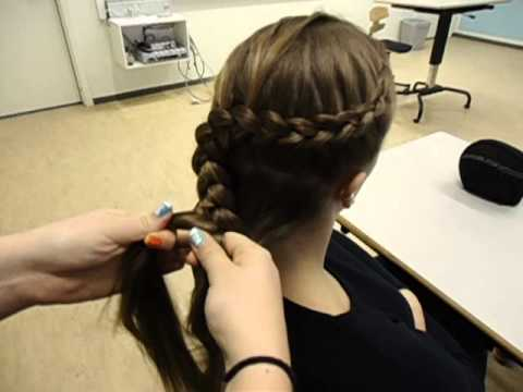 Dutch flower braid - How to do