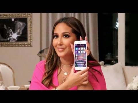 What's On My iPhone | All Things Adrienne