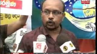 JVP protest against Electricity tariff increase