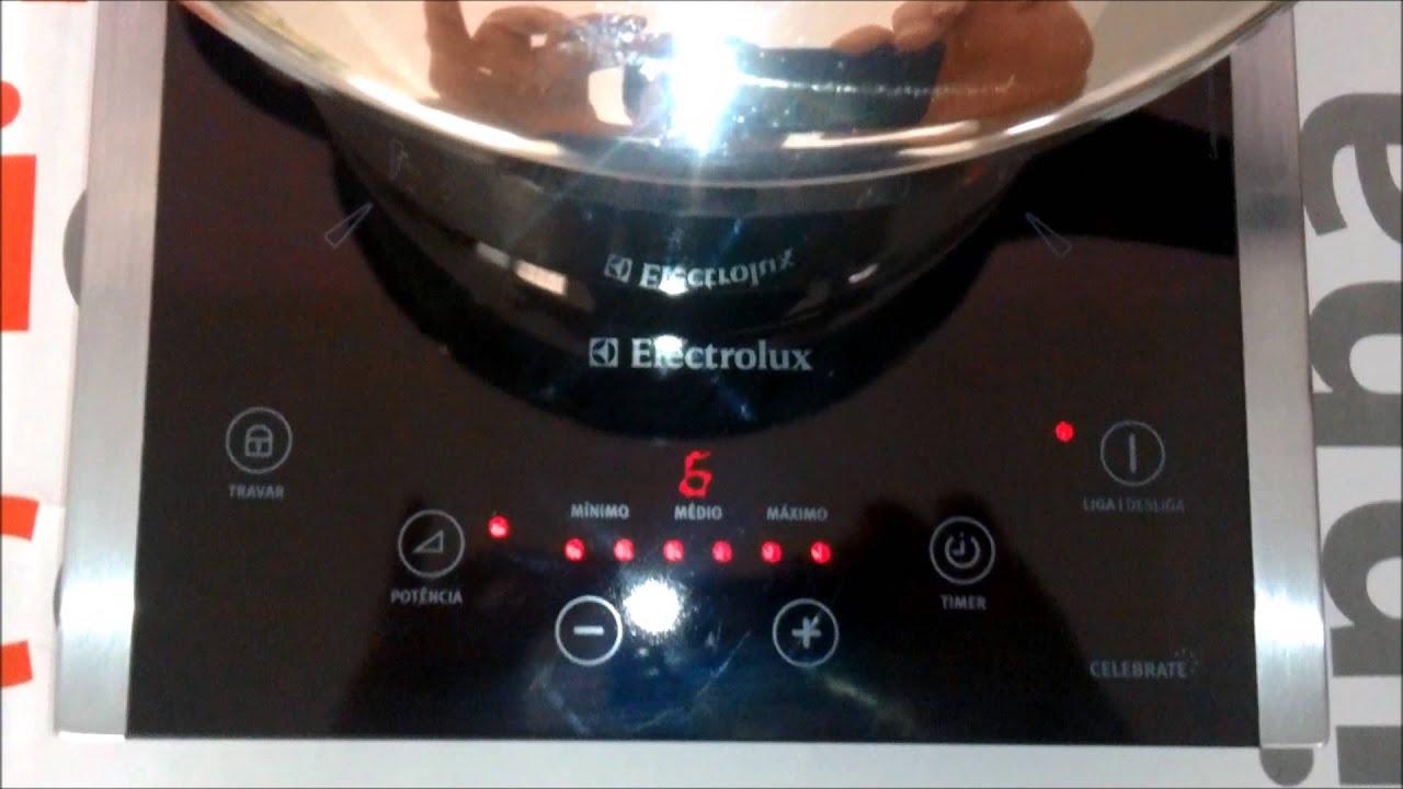 Cooktop portátil Electrolux Celebrate 1 boca (ICP30) Cozinhando  #C11C0A 1920 1080
