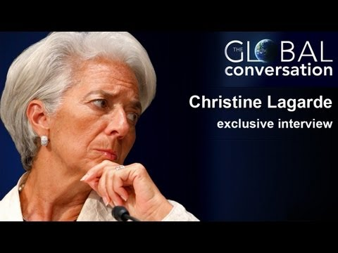 Global Conversation: Exclusive interview with Christine Lagarde