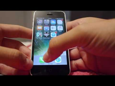 IOS 10 Iphone 5c 8gb hands on