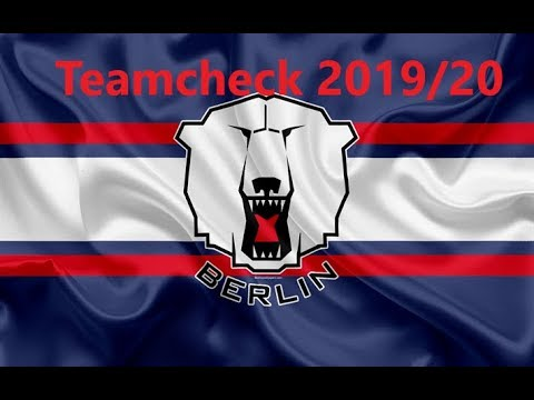 DEL Teamcheck Saison 2019/20 Eisbären Berlin