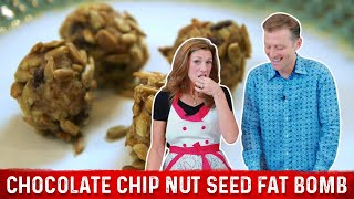 Chocolate Chip Nut Seed Fat Bomb Recipe | Karen and Eric Berg
