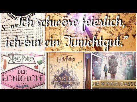 Die neuen Harry Potter Bücher - Ein Flip-Through-Video für Rumtreiber